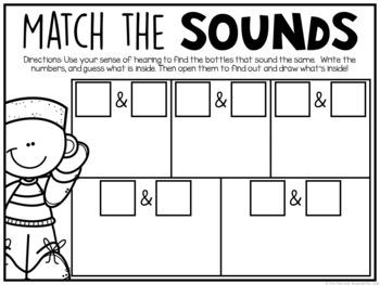 Preschool: 5 Senses {Plans and Printables}