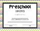 Preschool-8th Grade Diplomas