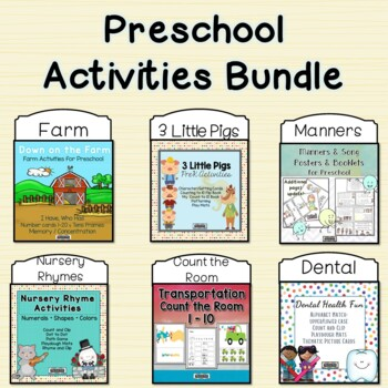 Preschool Activities Bundle