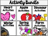 Preschool Activities Growing Bundle