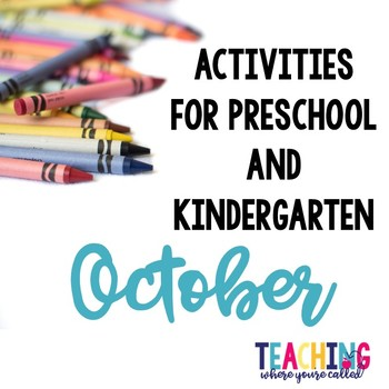 Preschool Activities October