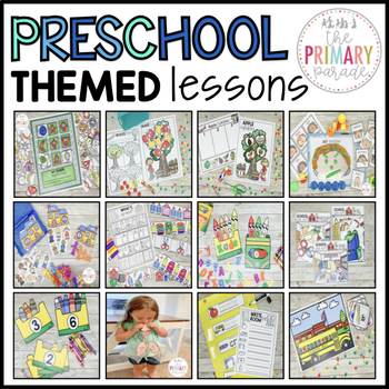 Preschool Activities and Curriculum GROWING BUNDLE