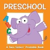 Preschool Activity Book & Digital Album Download