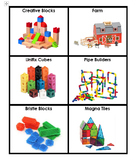 Preschool Activity/Toy Labels