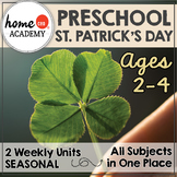 Preschool St. Patricks Day - Big Bundle for Preschool, PreK or Homeschool