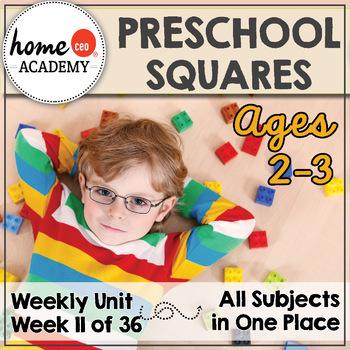 Preschool Squares