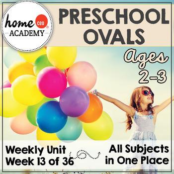 Preschool Ovals