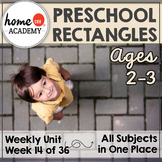 Rectangles Preschool Unit - Lesson Plan, Printables, Preschool, PreK, Homeschool