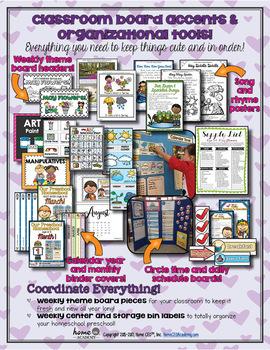 Preschool Flowers - Weekly Unit for Preschool, PreK or Homeschool