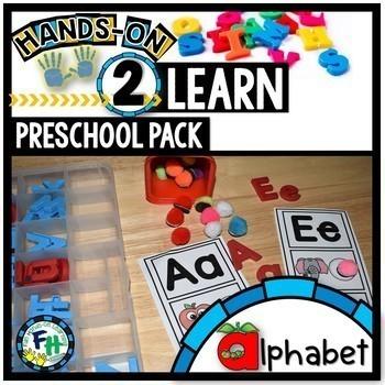 Preschool Alphabet Activities & Teachers Guide Pack