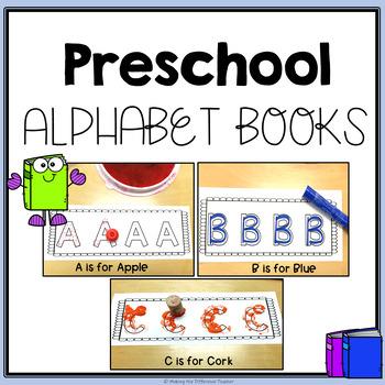 Preschool Alphabet Book & Build-it Mats