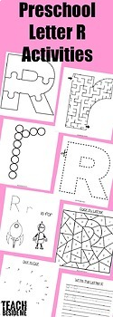 Preschool Alphabet Bundle M-R