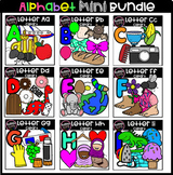 Preschool Mini Alphabet Jumbo Bundle (scribble clips)