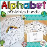 Preschool Printables: Alphabet Letter Printable Worksheets Mini Books