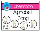 Preschool Alphabet Song - Sheep Theme