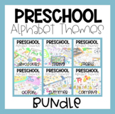 Preschool Alphabet Themes GROWING BUNDLE: Hands On Puzzles