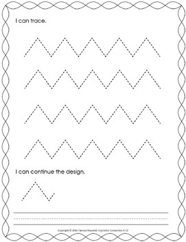 Preschool Alphabet & Writing Practice - NO PREP Worksheets