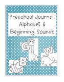 Preschool Alphabet and Beginning Sound Journal