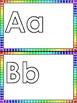 Preschool Alphabet cards