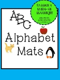 Preschool Alphabet cards