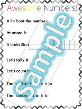 Preschool Anchor Chart Bundle