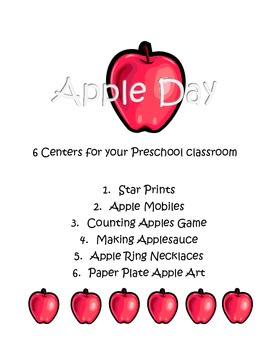 Preschool Apple Day Fun