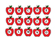 Preschool Apple Matching Bundle
