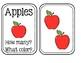 Preschool - Apple Math Cards