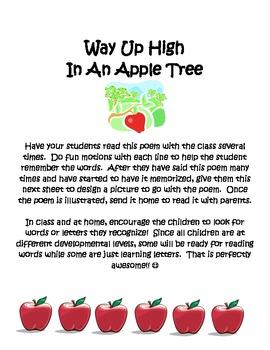 Preschool Apple Poem