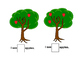 Preschool Apple and Leaf Tree Counting