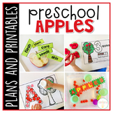 Preschool: Apples {Plans and Printables}
