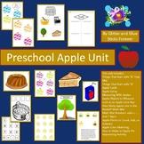 Preschool Apples Unit