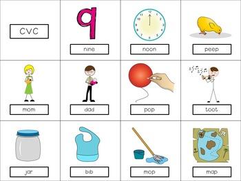 Preschool Apraxia Cards