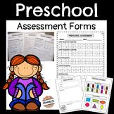 Preschool Assessment Forms
