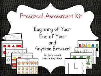 Preschool Assessment Kit