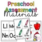 Preschool Assessment Materials Pack