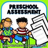 Preschool Assessment Pack