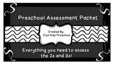 Preschool Assessment Packet