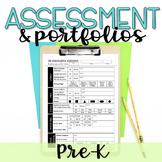 Play-Based Preschool Assessments & Portfolio Checklist