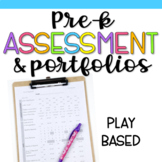 Play-Based Preschool Assessments & Portfolio Checklist