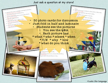 Adapted Books and Activities for Special Education, Speech  & PreK: PETS Theme