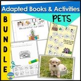 Pets Preschool Photo Activities Bundle   Adapted Books   W