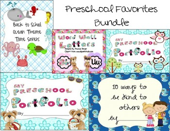 Preschool Favorites Bundle