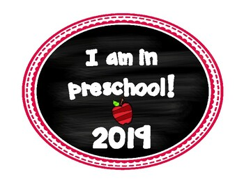 Preschool Back to School Photo Booth 2016