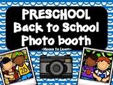 Preschool Back to School Photo Booth 2020