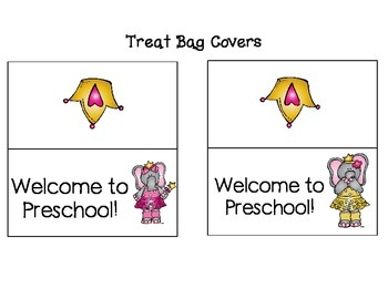 Preschool Back to School Set