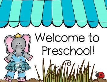 Preschool Back to School Set