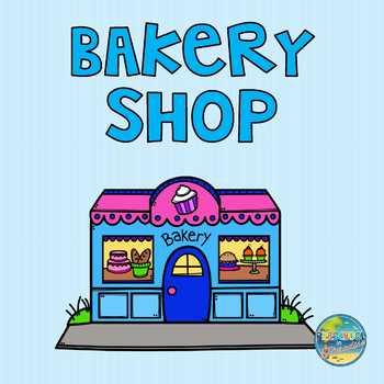 Preschool Bakery Shop Dramatic Play