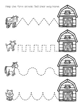 Preschool Barnyard Bundle, Farm Activities