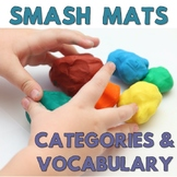 Preschool Basic Categories & Vocab Smash Mats + Sorts NO PREP